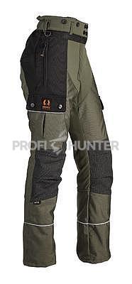 Dámské ochranné kalhoty proti zbraním černé zvěře - zelené, XL - 1