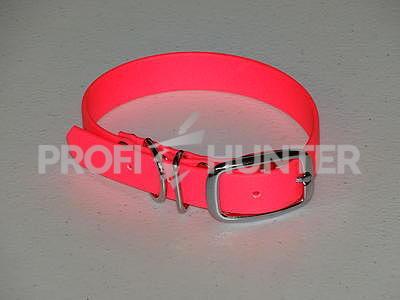 Obojek Beta růžový - 19 mm, Růžový