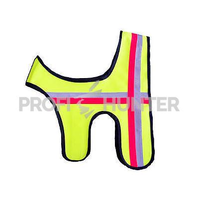 Reflexní vesta pro psa - žlutá - 1