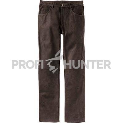 Robustní kožené kalhoty Luis Steindel - 1
