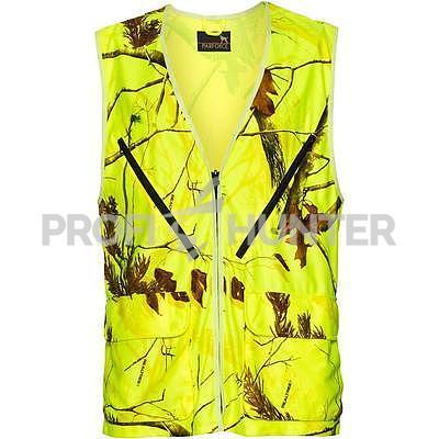 Signální vesta Parforce Realtree - žlutá - 1
