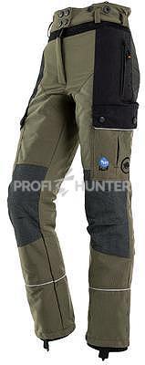 Dámské ochranné kalhoty proti zbraním černé zvěře - zelené, XL - 2