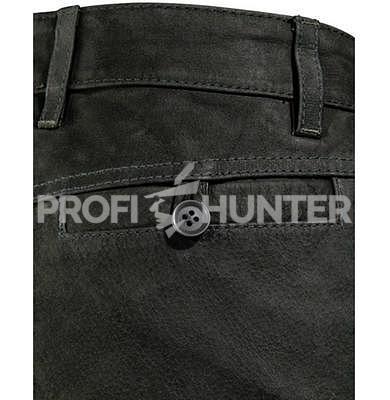 Dámské kožené kalhoty Parforce - Buvolí kůže s kapsou na nůž - 2