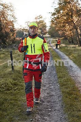 Ochranné kalhoty pro psovody proti černé zvěři Nordforest - červené, S - 2
