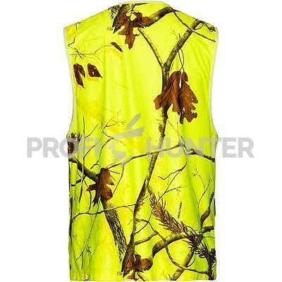 Signální vesta Parforce Realtree - žlutá, S - 2