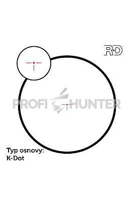 Meostar R1 1-4x22 RD K-Dot - 2