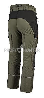 Dámské ochranné kalhoty proti zbraním černé zvěře - zelené, 2XL - 3