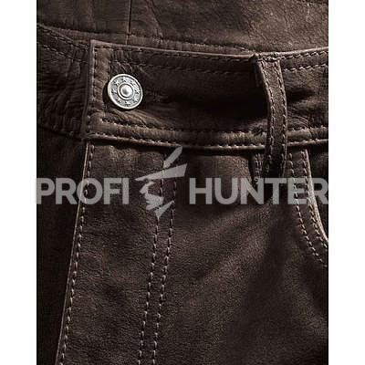 Robustní kožené kalhoty Luis Steindel - 3