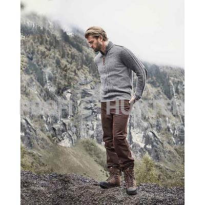 Robustní kožené kalhoty Luis Steindel, 48 - 3
