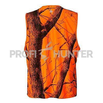 Signální vesta Parforce Realtree - oranžová, M - 3