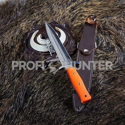 Nůž na zárazy Hatz-Watz Boar Hunter G10 FT - 3