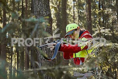 Dámská bunda na dosledy a naháňky Nordforest, S - 3