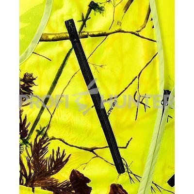 Signální vesta Parforce Realtree - žlutá, S - 3