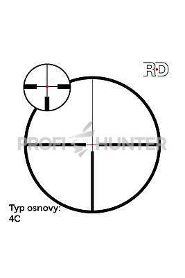 Meostar R1 1,5-6x42 RD 4C, 4C - 4