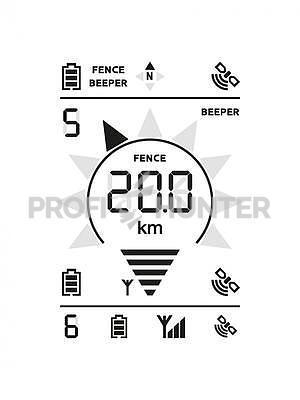 GPS Dog Trace X20 - 4