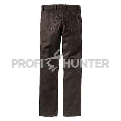 Robustní kožené kalhoty Luis Steindel - 4