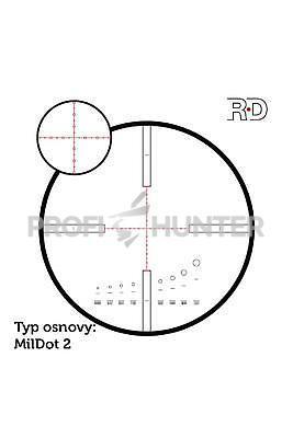 ZD 6-24x56 RD MilDot 2 - 4