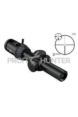 Optika6 1-6x24 RD SFP KDot2, 4K - 4