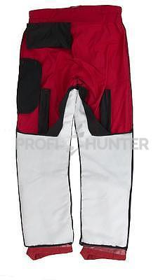 Ochranné kalhoty pro psovody proti černé zvěři - červené, S - 4
