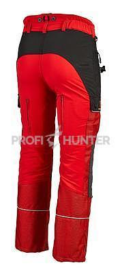 Dámské ochranné kalhoty proti zbraním černé zvěře - červené, 2XL - 5