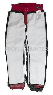Ochranné kalhoty pro psovody proti černé zvěři - červené, S - 5