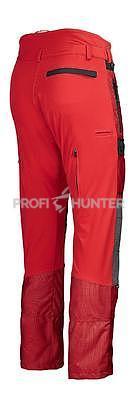 Ochranné kalhoty pro psovody proti černé zvěři - červené, S - 6