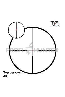 Meostar R2 2,5-15x56 RD 4C, 4C - 7